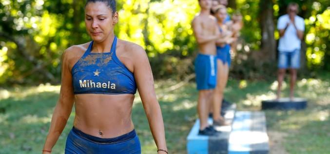 Eliminare din echipa Războinicilor! Mihaela Popescu a părăsit competiţia Exatlon România