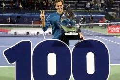 Roger Federer a câștigat la Dubai, cel de-al 100-lea titlu al carierei