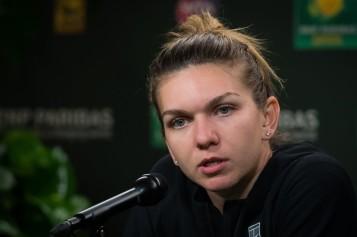 Simona Halep a răbufnit la conferinţa de presă. Iată ce s-a întâmplat în vestiarul româncei după înfrângerea de la Indian Wells