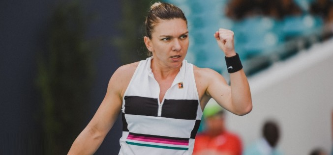Simona Halep, calificare spectaculoasă în semifinale la Miami Open