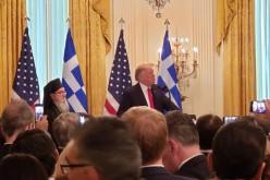 Nawaf Salameh, la recepţia de la Casa Albă, oferită de Trump de Ziua Independenței Greciei