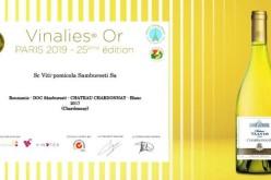 """Medalie de aur pentru Chateau Valvis Chardonnay la Concursul """"Vinalies Internationales"""" de la Paris"""