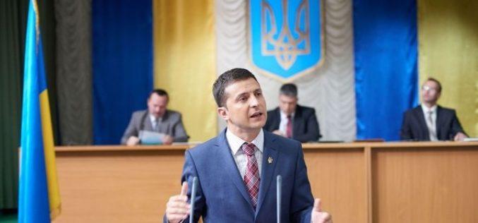 Stare de şoc în Ucraina. Un actor a câştigat alegerile prezidenţiale