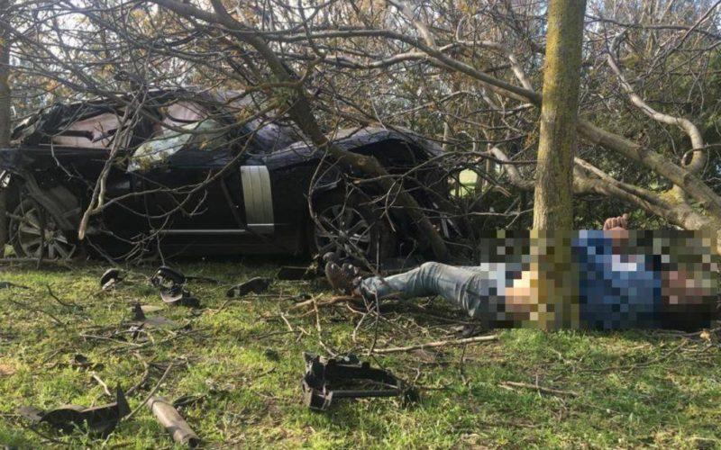 Imagini șocante! Trupul neînsuflețit al lui Răzvan Ciobanu, filmat, aruncat lângă mașină – VIDEO