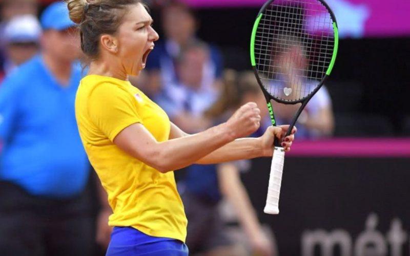 Simona Halep, victorie dramatică în Franţa. A învins-o pe Garcia după un meci maraton