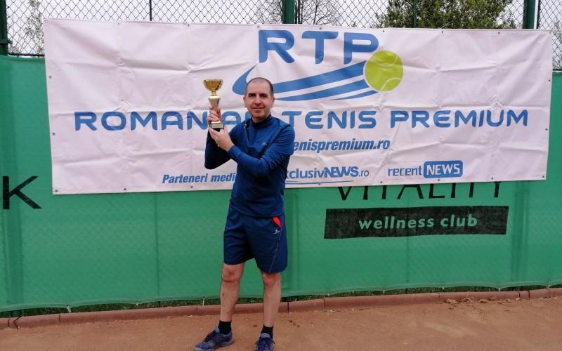 Marius Fovenyessy a cucerit turneul de tenis RTP Bucureşti Cup 2019