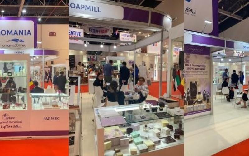 Cinci companii de cosmetice din România, prezente la cel mai mare târg din Orientul Mijlociu