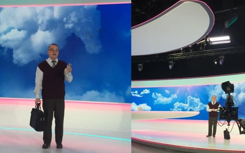Marius Florea Vizante a ajuns să prezinte Meteo, la Antena 1