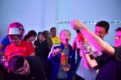 Show de magie la Disco Players Party pentru jucătorii turneului Dr. Oetker Junior Trophy