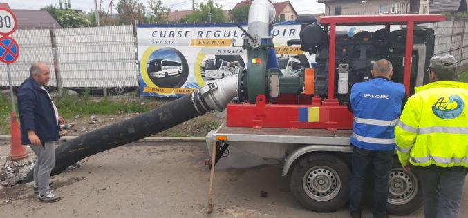 Apele Române intervin în zonele afectate de inundații din spațiul hidrografic Someș-Tisa