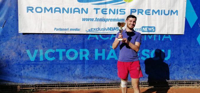 Gabriel Stancu a dat lovitura carierei. A câştigat primul turneu în circuitul RTP