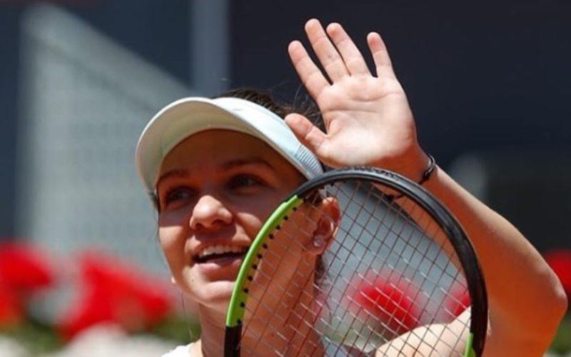 Simona Halep e în semifinale la Madrid. Românca este la un pas de locul unu mondial