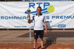 Marius Dumitru, victorie mare în circuitul RTP. A câştigat turneul de tenis RTP Bucureşti Cup 2019