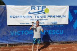 Mihnea Susanu a câştigat prima ediţie a unui turneu de tenis de categorie RTP 500