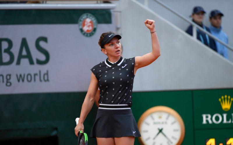 Simona Halep, victorie dificilă în primul meci de la Roland Garros