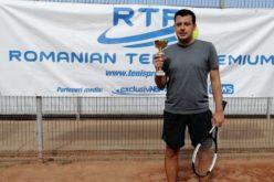 Tiberiu Vasilache a bifat primul să succes la RTP. A cucerit turneul RTP Tenis Cup 2019
