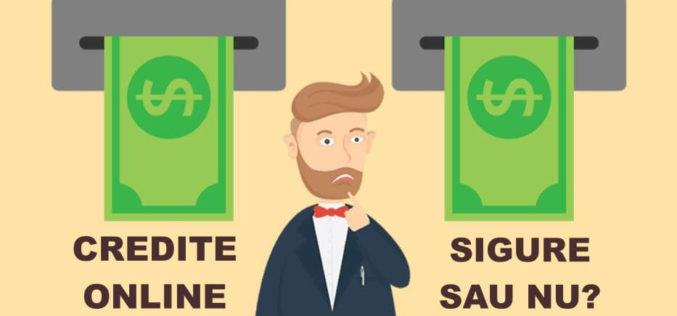 Sunt creditele online sigure?