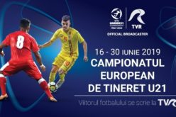 Iată programul transmisiunilor TVR de la Europeanul de Fotbal U21
