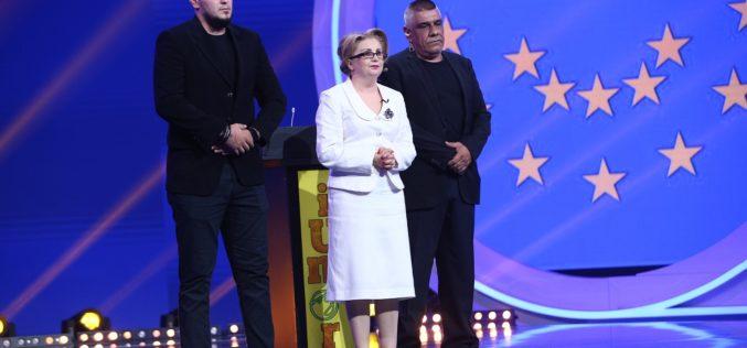 Irena Boclincã, alias Viorica Dăncilă, face valuri în online. E pe primul loc în videoclipuri populare pe Youtube România