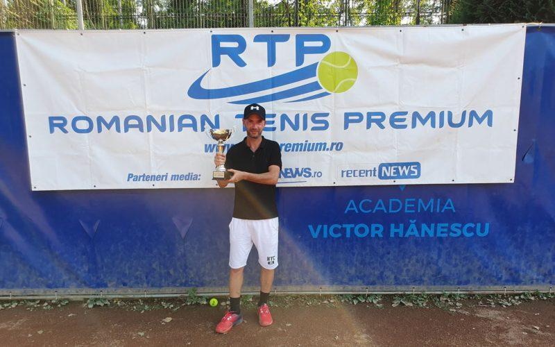 Bogdan Dragomirescu, noul campion al RTP. A cucerit turneul RTP 500 TENIS CUP 2019