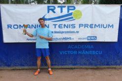 Cătălin Bosoancă este noul campion RTP. A cucerit turneul de tenis RTP 100 TENIS CUP 2019