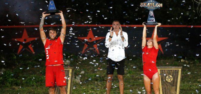 Ion Surdu şi Andreea Arsine au câştigat concursul Exatlon 2019