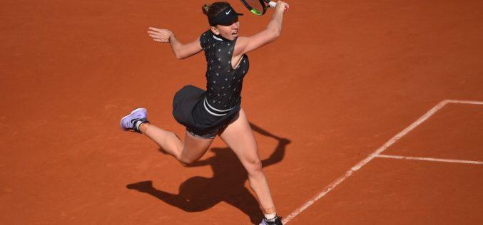 Simona Halep, spulberată în primul set la Roland Garros, de o jucătoare de 17 ani