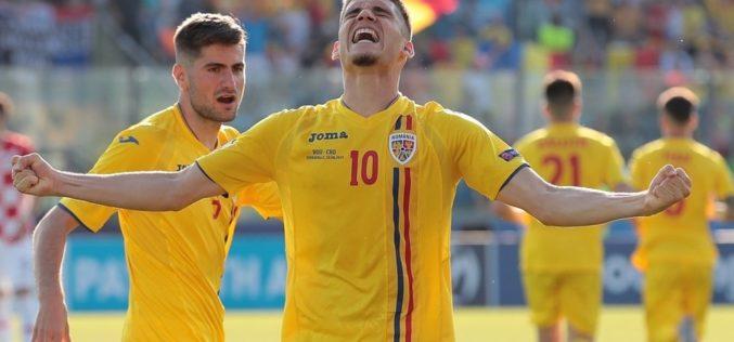 România, victorie colosală la Europeanul de Fotbal U21. Tricolorii au îngenuncheat Anglia
