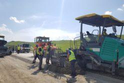 Lucrările avansează pe Lotul II al autostrăzii Sebeș – Turda