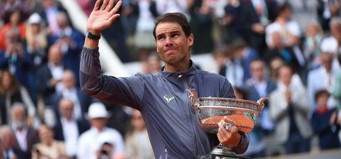 Rafael Nadal este de neoprit la Roland Garros. A cuerit al 12-la trofeu la Paris