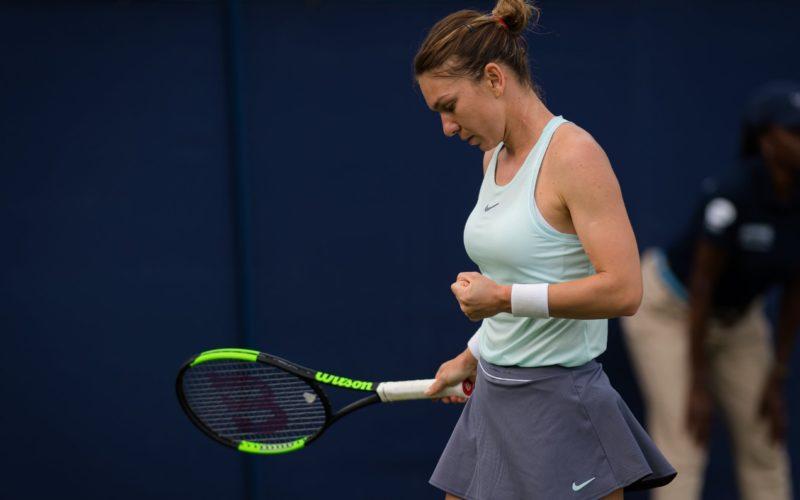 Simona Halep, calificare cu emoţii în sferturile de finală ale turneului de tenis de la Eastbourne