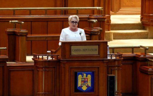 Opoziţia, eşec în Parlament. Moţiunea de cenzură a picat. Guvernul Dăncilă s-a salvat!