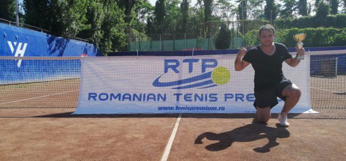 Vlad Orbişor a cucerit turneul de tenis RTP RECENT NEWS CUP 2019