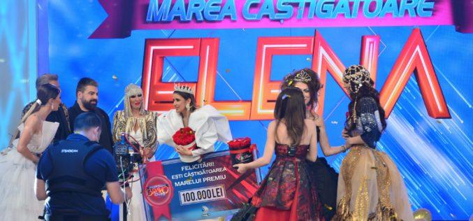 """Elena este câştigătoarea sezonului cinci """"Bravo, ai stil!"""", a fost desemnată Cea mai stilată femeie din România!"""