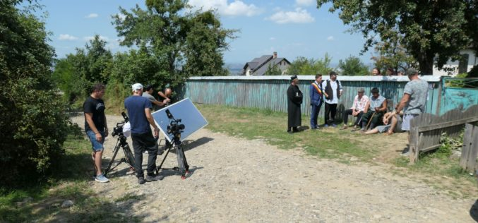 """Imagini în premieră de la filmările serialului de comedie """"Moldovenii"""", realizat de Kanal D"""