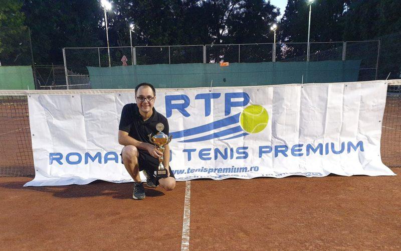 Eduard Ciurea, cel de-al 11-lea campion RTP din 2019. A cucerit turneul RTP 250 TENIS CUP