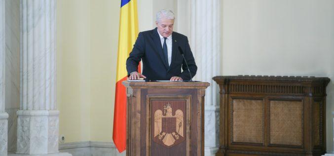 Nicolae Moga a demisionat din funcţie. A avut cel mai scurt mandat din istoria Ministerului de Interne