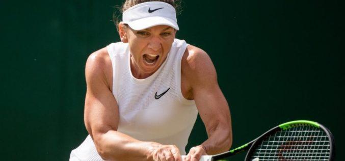 Simona Halep, calificare uriaşă în semifinale la Wimbledon