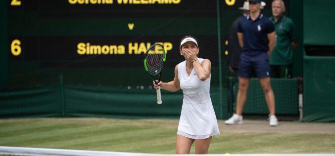 """Simona Halep, """"jefuită"""" de britanici, după câştigarea titlului la Wimbledon"""