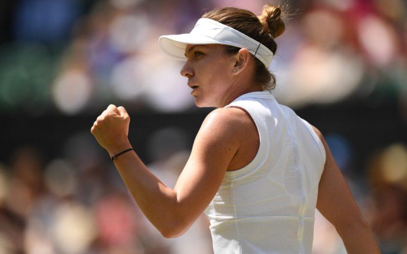 Simona Halep, mega performanţă la Londra. A spulberat-o pe Svitolina şi e în finala de la Wimbledon