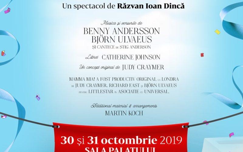 """""""Mamma Mia!"""", musicalul care a cucerit peste 60 de milioane de spectatori din întreaga lume revine la București"""
