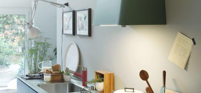 Culoare în bucătărie, de la Franke
