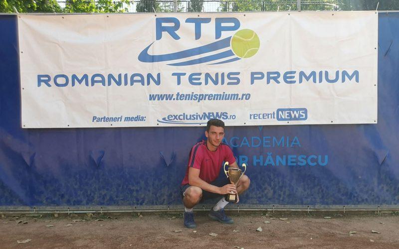 Radu Sebastian Popa şi-a trecut în palmares cel de-al cincilea trofeu RTP
