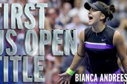 Bianca Andreescu, noul star al tenisului mondial. A cucerit US Open la 19 ani!