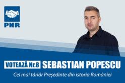 Sebastian Popescu, cel mai tânăr candidat la prezidenţiale, trimite o scrisoare către milioane de români