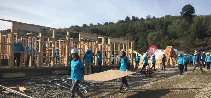 Habitat for Humanity România va construi 10 case în 5 zile la Vaideeni