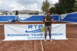 Ilea Ioan Gabriel, noul campion al RTP. A cucerit turneul de tenis RTP 100 GOLD 2019