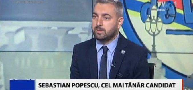 Sebastian Popescu vine tare din spate. Este cel mai vizionat candidat de la TVR – VIDEO