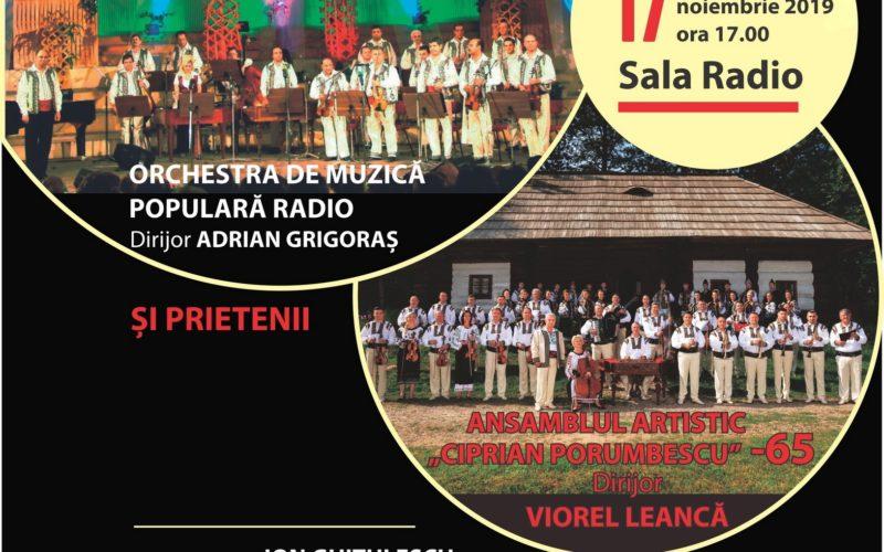 Folclorul bucovinean autentic ajunge pe scena Sălii Radio!