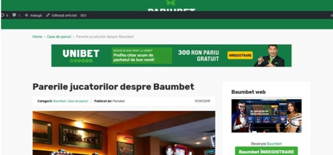 Pariubet – Top case de pariuri Romania